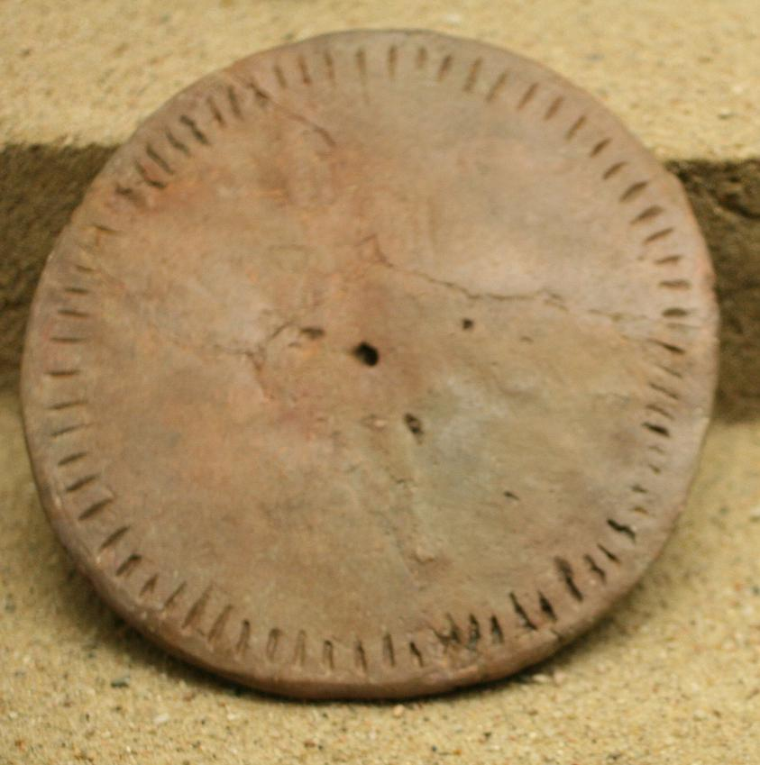 Perforated Ceramic disk