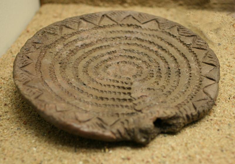 Ceramic disk